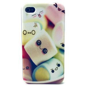 Emotive gélový obal pre mobil iPhone 4 - kokina - 1