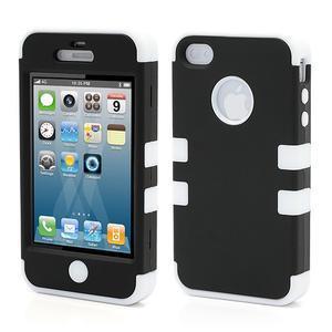 Extreme odolný kryt 3v1 na mobil iPhone 4 - biele - 1