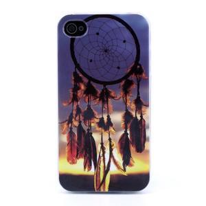Emotive gélový obal pre mobil iPhone 4 - snívanie - 1