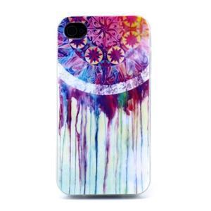 Emotive gélový obal pre mobil iPhone 4 - lapač snov - 1