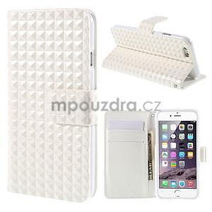 Cool style puzdro pre iPhone 6s a iPhone 6 - biele - 1