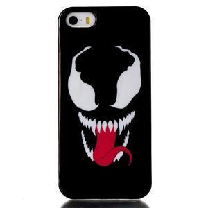 Gelový obal na mobil iPhone SE / 5s / 5 - příšera - 1