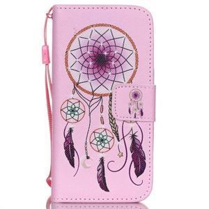 Peňaženkové puzdro pre mobil iPhone SE / 5s / 5 - dream - 1