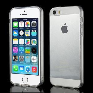 gélový Transparentný obal pre iPhone SE / 5s / 5 - 1