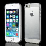 gélový Transparentný obal pre iPhone SE / 5s / 5 - 1/5