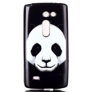 Softy gelový obal na LG Leon - panda - 1