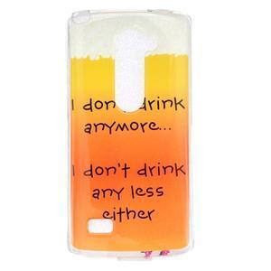 Jelly gelový obal na mobil LG Leon - drink - 1