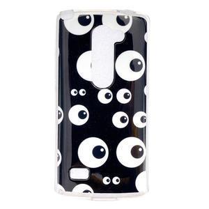Jelly gelový obal na mobil LG Leon - očička - 1