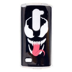 Jelly gélový obal pre mobil LG Leon - monster - 1