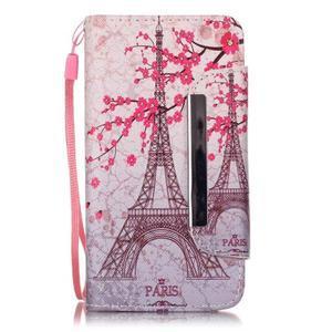 Royal puzdro pre mobil s magnetickou sponou na LG Leon - Eiffelova veža - 1