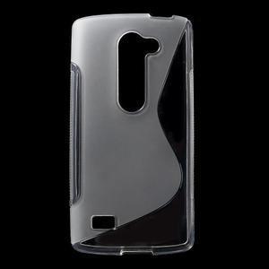 S-line gelový obal na mobil LG Leon - transparentní - 1