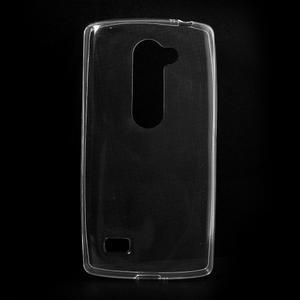 Ultratenký gélový obal pre mobil LG Leon - transparentný - 1