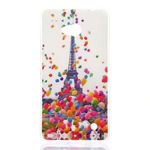 Softy gélový obal pre mobil Microsoft Lumia 640 LTE - Eiffelova veža - 1