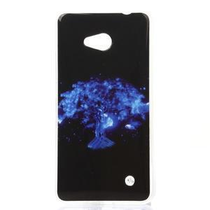 Softy gélový obal pre mobil Microsoft Lumia 640 LTE - magický strom - 1