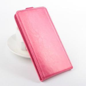 Flipové puzdro pre mobil Lenovo A5000 - rose - 1