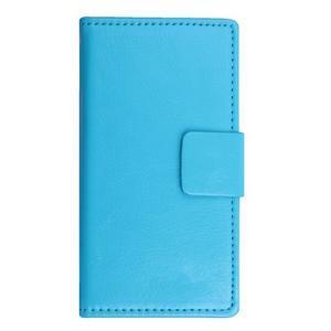 GT peňaženkové puzdro na Lenovo A5000 - modré - 1