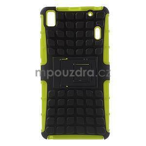 Odolne puzdro na Lenovo K3 Note a Lenovo A7000 - zelené - 1