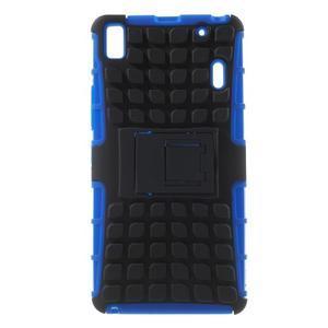 Odolne puzdro pre Lenovo K3 Note a Lenovo A7000 - modré - 1