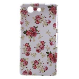 Gélový obal pre Sony Xperia Z3 mini - roses - 1