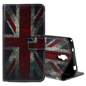 Cross peňaženkové puzdro na Xiaomi Mi4 - UK vlajka - 1