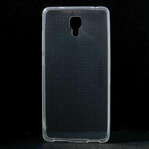 Ultratenký slim gélový obal pre Xiaomi Mi4 - transparentný - 1
