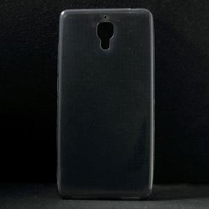 Ultratenký slim gélový obal pre Xiaomi Mi4 - sivý - 1