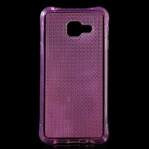 Diamonds gélový obal pre Samsung Galaxy A3 (2016) - ružový - 1