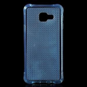 Diamonds gélový obal pre Samsung Galaxy A3 (2016) - modrý - 1