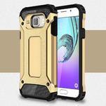 Extreme outdoor kryt 2v1 pre mobil Samsung Galaxy A3 (2016) - zlatý - 1/7