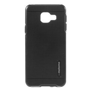 Odolný ochranný obal 2v1 pre mobil Samsung Galaxy A3 (2016) - čierný - 1
