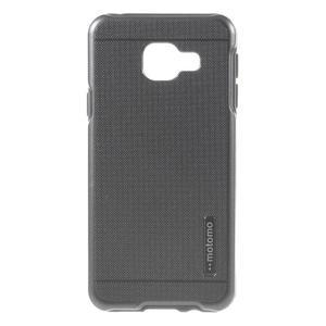 Odolný ochranný obal 2v1 pre mobil Samsung Galaxy A3 (2016) - šedý - 1