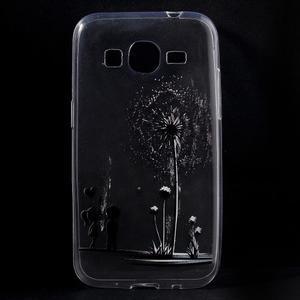 Ultratenký slim obal pre Samsung Galaxy Core Prime - láska - 1
