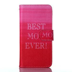 Standy peněženkové pouzdro na Samsung Galaxy Core Prime - nejlepší mamka - 1
