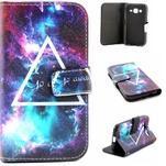 Puzdro pre mobil Samsung Galaxy Core Prime - traingl - 1/7