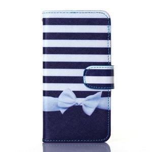 Standy peněženkové pouzdro na Samsung Galaxy Core Prime - mašlička - 1