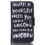Emotive peňaženkové puzdro pre Samsung Galaxy Core Prime - unicorn - 1/6