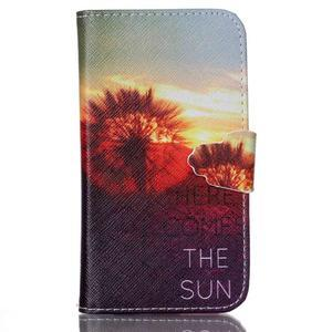 Emotive peněženkové pouzdro na Samsung Galaxy Core Prime - východ slunce - 1
