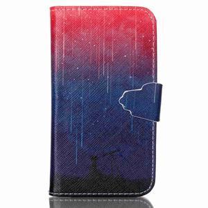 Emotive peněženkové pouzdro na Samsung Galaxy Core Prime - meteor - 1