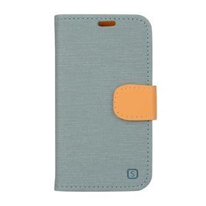 Covers puzdro pre mobil Samsung Galaxy Core Prime - svetlomodré - 1