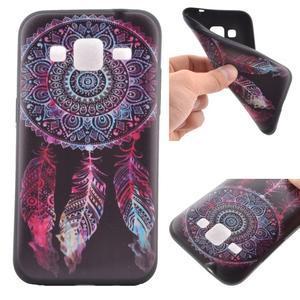 Hardy gélový obal pre mobil Samsung Galaxy Core Prime - lapač snov - 1