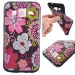Hardy gélový obal pre mobil Samsung Galaxy Core Prime - kvetinová koláž - 1/6
