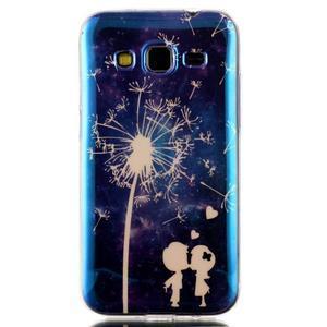 Bluray gelový obal s odlesky na Samsung Galaxy Core Prime - láska - 1