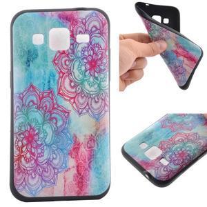 Hardy gélový obal pre mobil Samsung Galaxy Core Prime - henna - 1