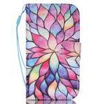 Pictu pouzdro na mobil Samsung Galaxy Core Prime - malované květy - 1/7