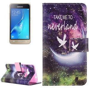 Emotive koženkové pouzdro na Samsung Galaxy J1 (2016) - neverland - 1