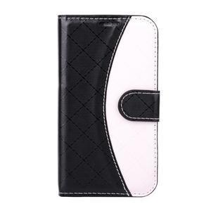 Elegantné puzdro na Samsung Galaxy J1 - čierné - 1