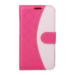 Elegantné puzdro na Samsung Galaxy J1 - rose - 1