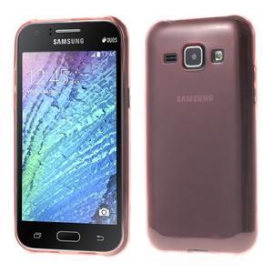Ultra tenký obal pre Samsung Galaxy J1 - ružový - 1