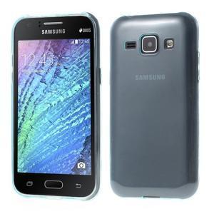 Ultra tenký obal pre Samsung Galaxy J1 - světle modrý - 1