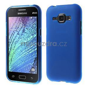 Modrý matný kryt pre Samsung Galaxy J1 - 1